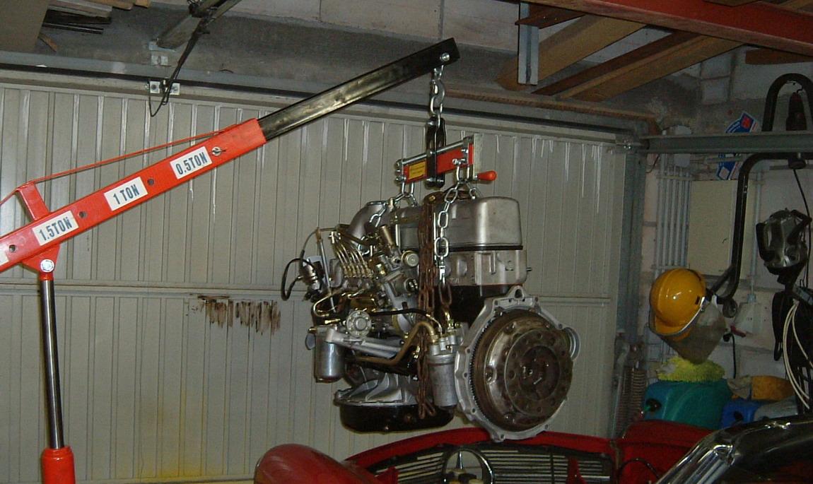Motor Mercedes Pagode W 113 Ausbauen Einbauen