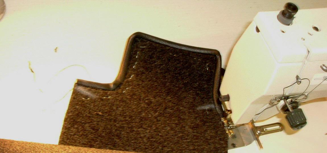 Teppich erneuern Mercedes Pagode W 113 überhol