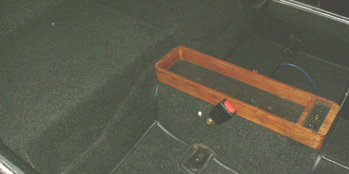 Teppich erneuern Mercedes Pagode W 113 überholen
